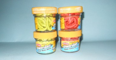 Camole Berkley Powerbait colori brillanti - vaso 55 pz.